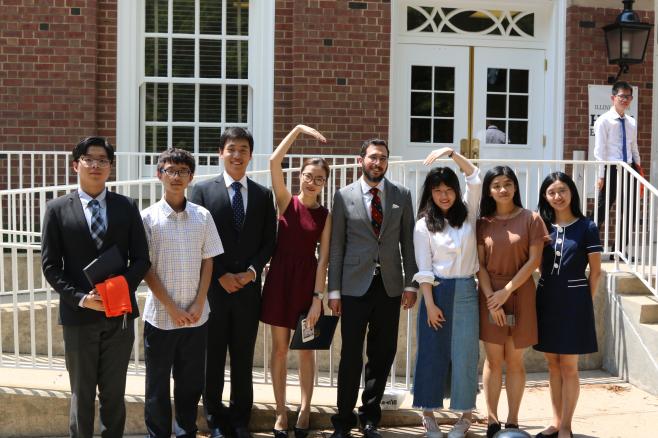 同济大学-伊利诺伊大学香槟分校2017暑期项目结束