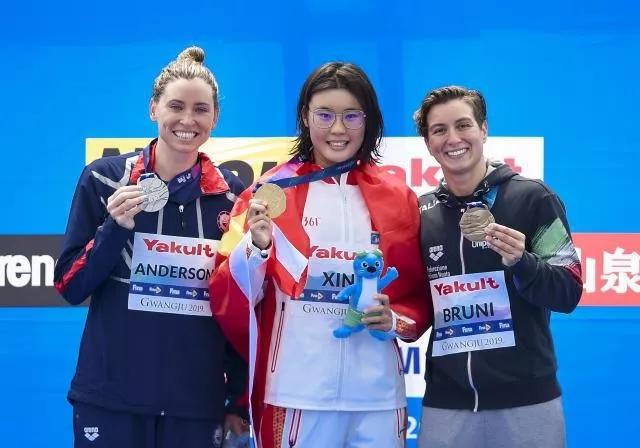 零的突破!中国历史首金!这位同济姑娘夺游泳世锦赛公开水域冠军!