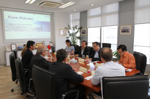 The Delegation from DAAD visited Tongji SEM