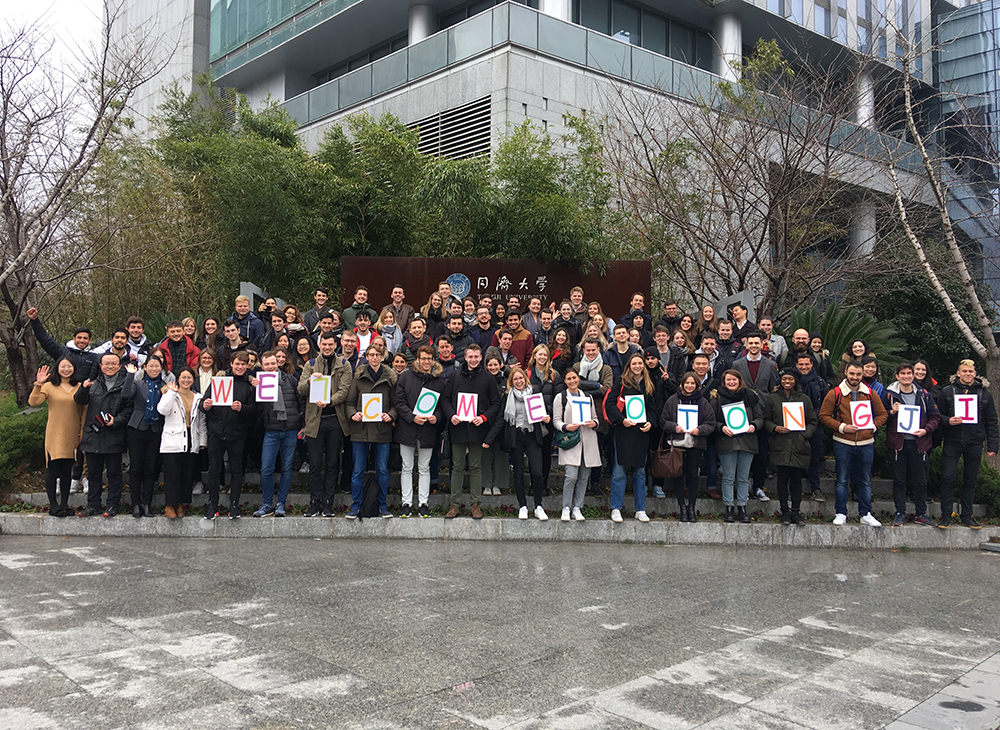 Welcome Ceremony of Spring Semester 2019 Held for Int'l Exchange Students of SEM